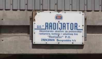Zrenjanin: Radijator otišao u stečaj