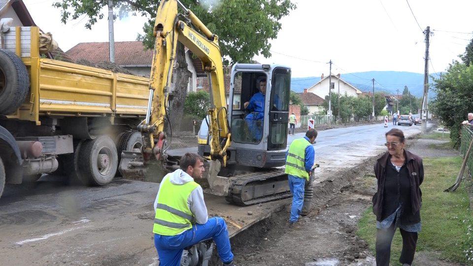 Rekonstrukcija Ljubostinjske ulice u Grabovcu