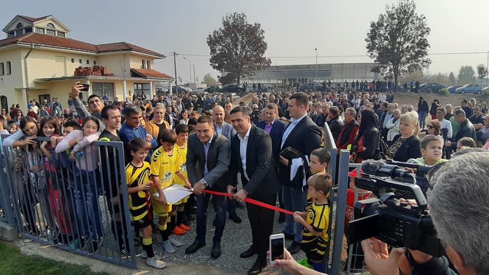 Svečano otvoren fudbalski teren u Vrnjcima