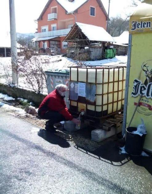 Nastavljeno posavljanje kanistera u naseljenim mestima