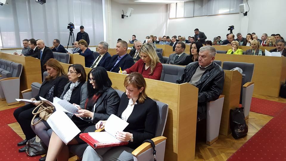 Održano 22 zasedanje lokalnog parlamenta