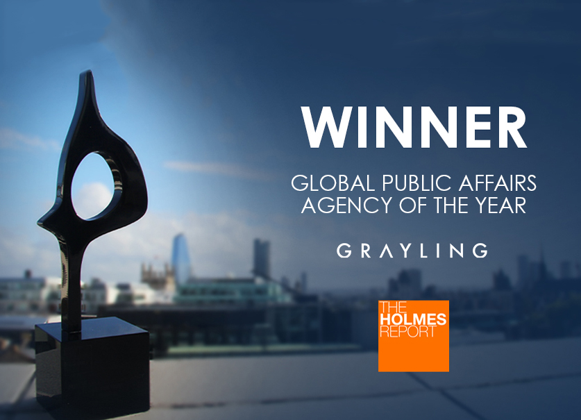 Agencija Grayling osvojila nagradu Global SABRE Awards za Global Public Affairs Agency za 2019. godinu