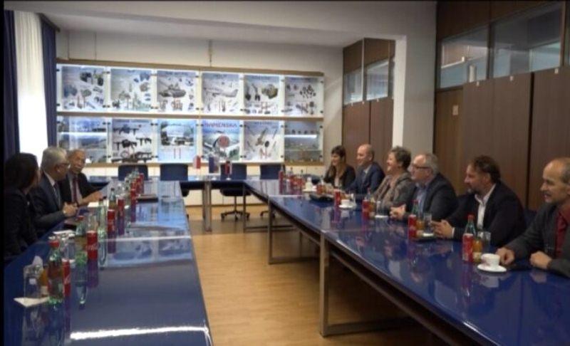 Ambasador Indonezije u poseti PPT''Namenska''AD u Trsteniku