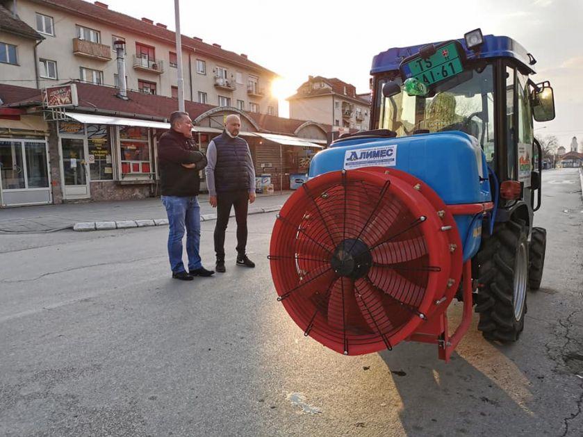 Dezinfekcija previđena na celom području trsteničke opštine