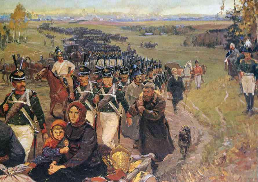 ПОЖАР МОСКВЕ 1812. ГОДИНЕ
