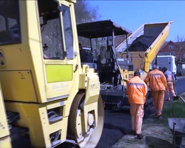 Radovi na deonici puta u Lozni