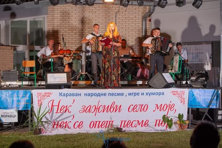 Nezaboravno veče narodne pesme,igara i humora u Poljni