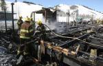 Izgoreo planinarski dom Brusa Vilisa u Ajdahu