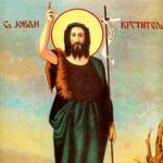 Danas je Sabor svetog Jovana