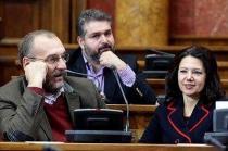 DSS skinuo s liste Sinišu Kovačevića i Sandu Raković Ivić