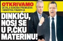 Dačić: Dinkiću, nosi se u pi.ku materinu!