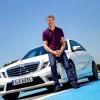David Coulthard akter nove marketinške kampanje za Mercedesov E63 AMG model