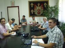 """Delegacija evroregiona """"Nišava"""" u Novom Pazaru"""