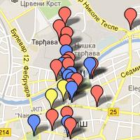 Inoversum Mapa Srbije