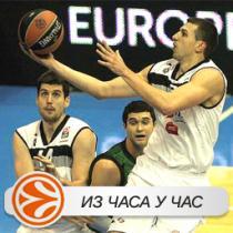Partizan pao u finišu
