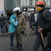 Protest protiv demonstranata u Kijevu