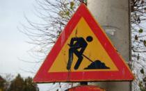 Radovi na putu Orašac- Krćevac