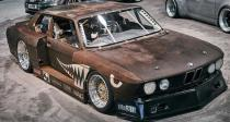 1985 H&R Springs BMW 535i Rusty Slammington