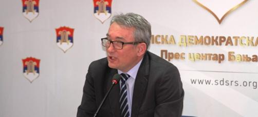 Bosić: Dodik pokazao politički kukavičluk