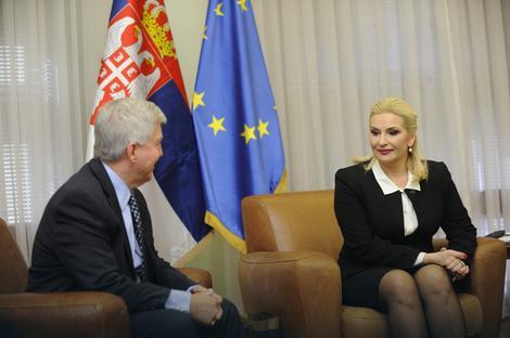 DOBRODOŠLICA Ambasador Skot tražio da prvo vidi Zoranu