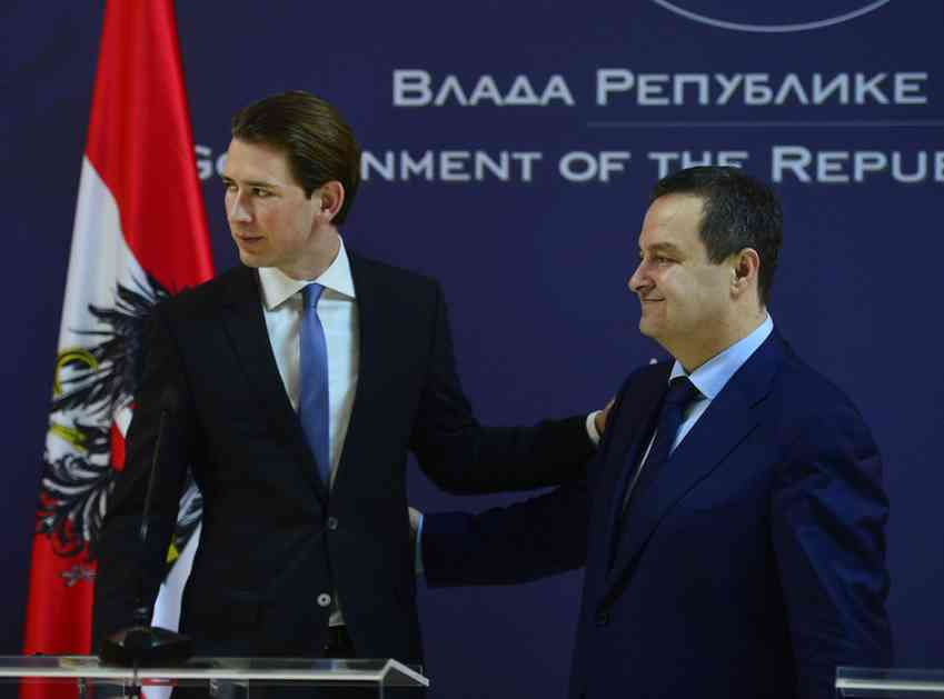 Dačić: Zatvaramo granicu za migrante, ako...