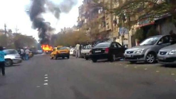 Eksplozija u Damasku, deset mrtvih