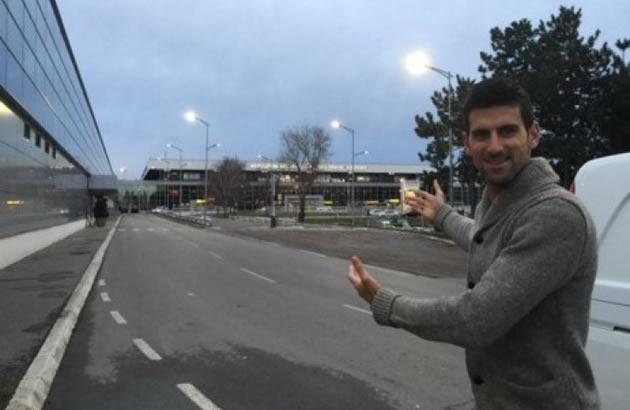 (FOTO) NOVAK STIGAO U SRBIJU Taj osecaj kad se vratis u svoju zemlju