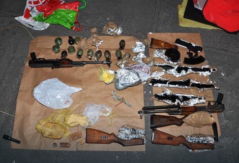 MEĐUNARODNA ISTRAGA Crnogorska policija otkrila lanac krijumčarenja oružja i marihuane