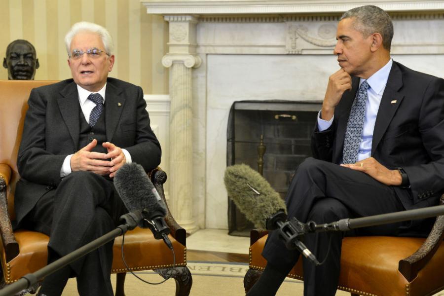 Obama: SAD i Italija zajedno protiv ISIL-a