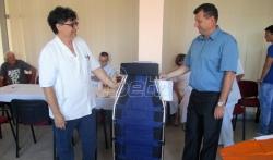 Opština Bogatić donirala Šabačkoj bolnici transfuzioni ležaj