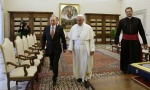 Papa Franja: Samo Putin štiti hrišćane širom sveta