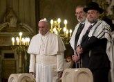 Papa uoči istorijskog sastanka:Mostovi pomažu miru