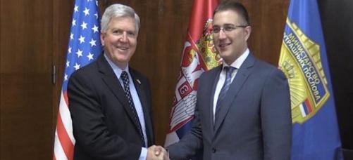 Podrška SAD evropskom putu Srbije