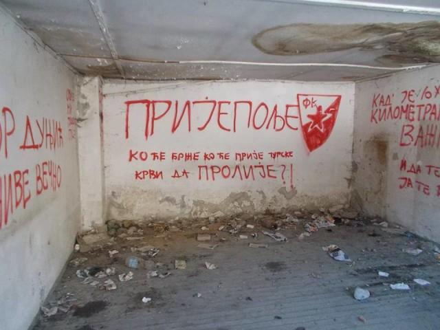 """Prijepolje: Grafit """"Ko će brže ko će prije turske krvi da prolije?!"""""""