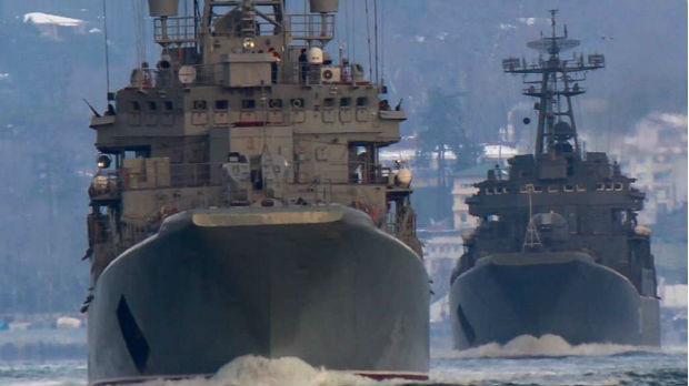 Ruski vojni brodovi prošli kroz Dardanele