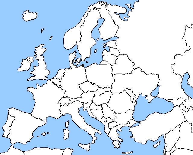 karta evrope sa granicama Sjajan infografik   Crveno bela Srbija, crno bela Italija, Lisica  karta evrope sa granicama