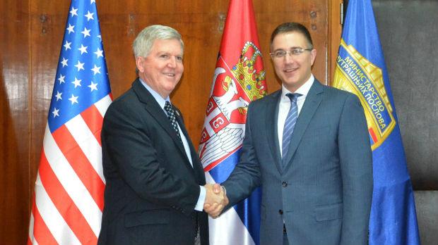 Stefanović sa Skotom o saradnji Srbije i SAD