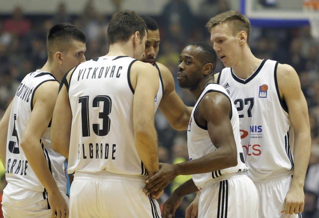 Partizan razbio Cedevitu i pomogao Zvezdi