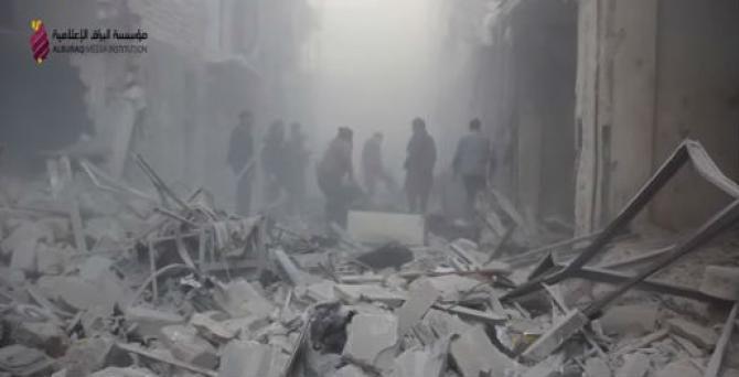VIDEO: Halep nakon razornih zračnih udara