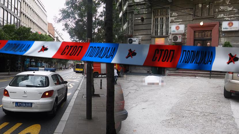 (VIDEO) Tragedija u centru Beograda: Samoubistvo, ubistvo ili nesrećan slučaj? Telegraf PRESEK vesti 24. maj 2016.
