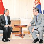 Vučić u poseti Kini