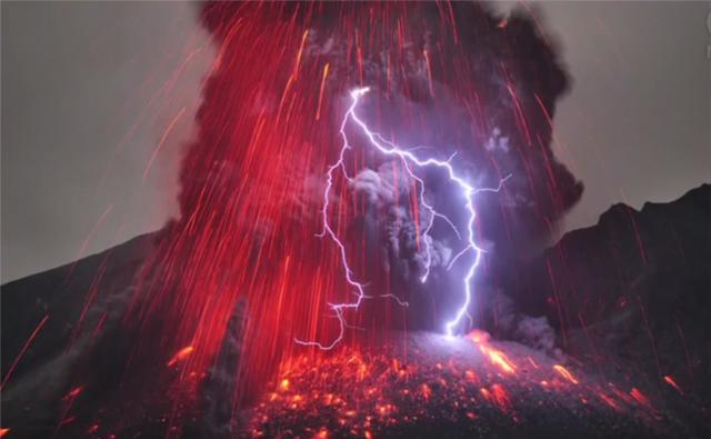 Zašto sevaju munje tokom vulkanske erupcije?