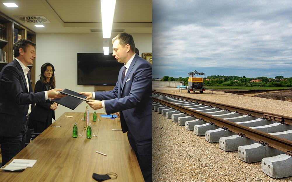 خطوة جديدة في تحقق الاتفاق – سيتم بناء خط سكة حديد إلى نوفي بازار