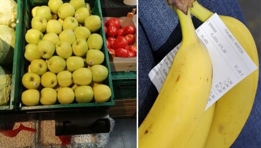 Килограм домаћег воћа у београдским маркетима кошта и дупло више од увозног
