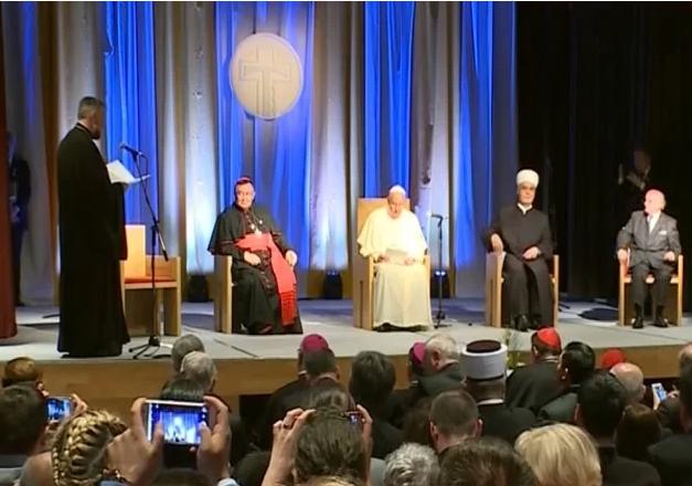Подсећање: Како је владика Григорије папољубац дочекао папу Франциска у Сарајеву