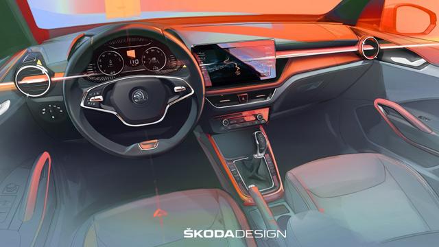 01.05.2021 ::: Škoda Fabia (2022) - prvi utisak o unutrašnjosti modela