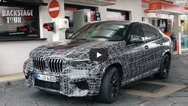 01.11.2018 ::: Novi BMW X6 već brusi asfalt na Nürburgringu (VIDEO)
