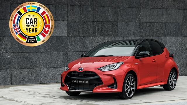 02.03.2021 ::: Toyota Yaris je evropski automobil godine 2021!