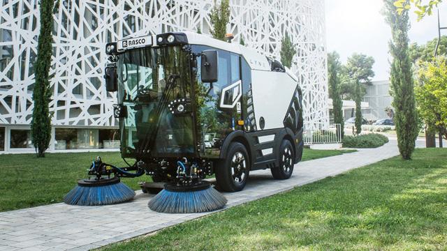 03.10.2019 ::: Na EcoFairu u Beogradu predstavljen LYNX – kompaktna čistilica namenjena čišćenju javnih površina