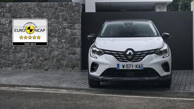 09.12.2019 ::: Novi Renault Captur osvojio maksimalnih 5 Euro NCAP zvezdica